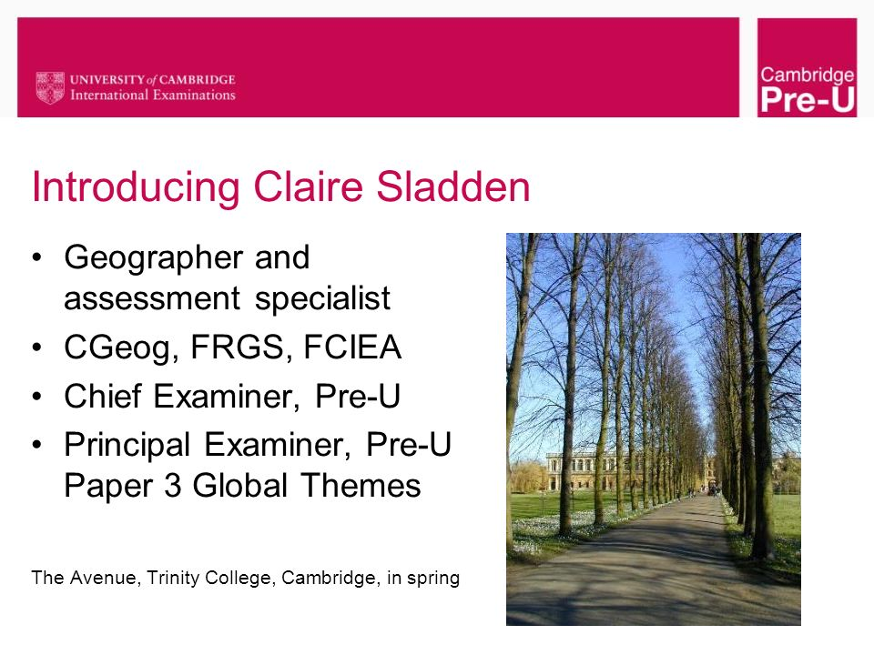 Introducing Claire Sladden