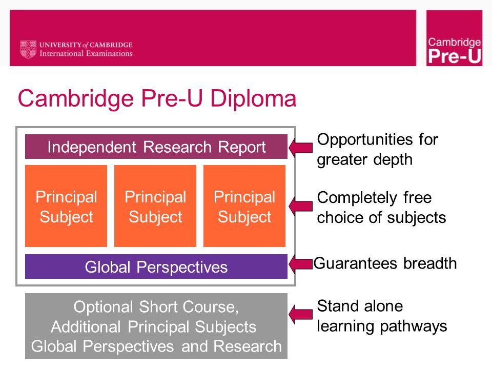 Cambridge Pre-U Diploma