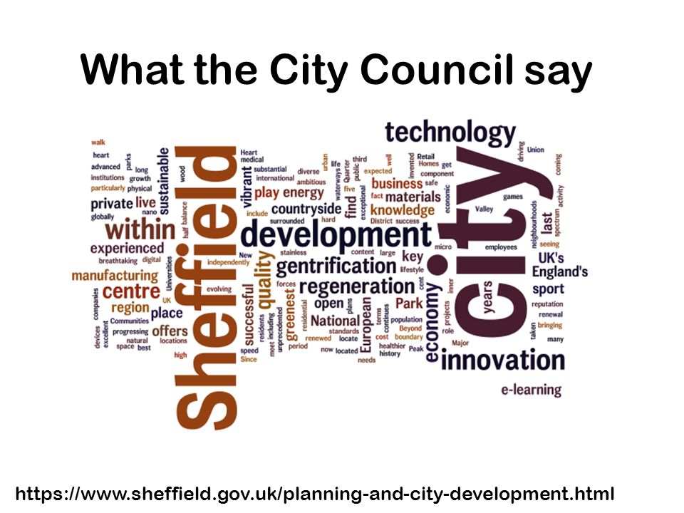 What the City Council say