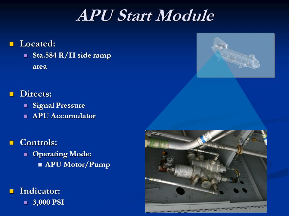Ch 47d Auxiliary Power Unit Ppt Video Online Download