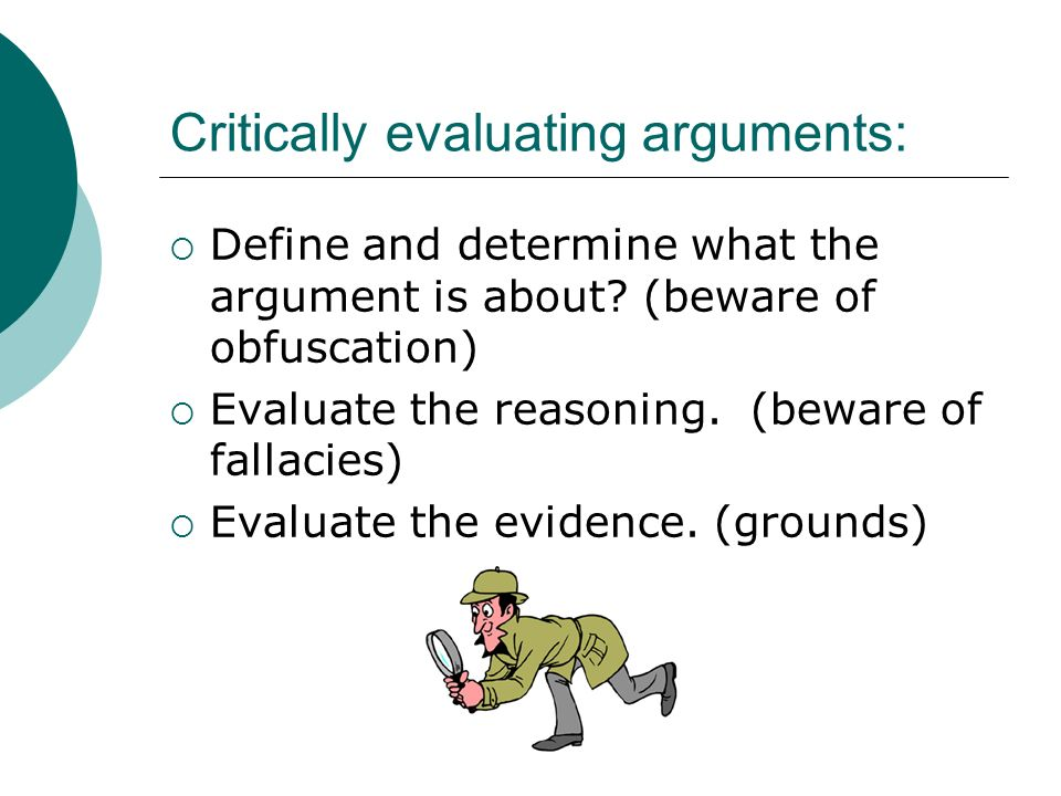 define critically evaluate