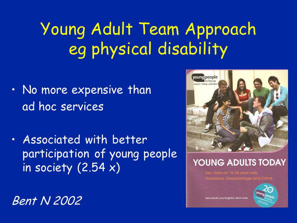 Young Adult Team Approach eg physical disability