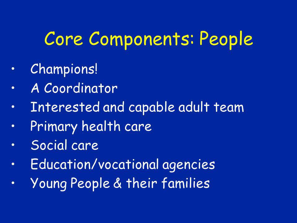 Core Components: People