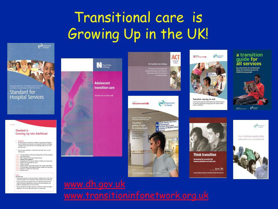 Transitional care is Growing Up in the UK!