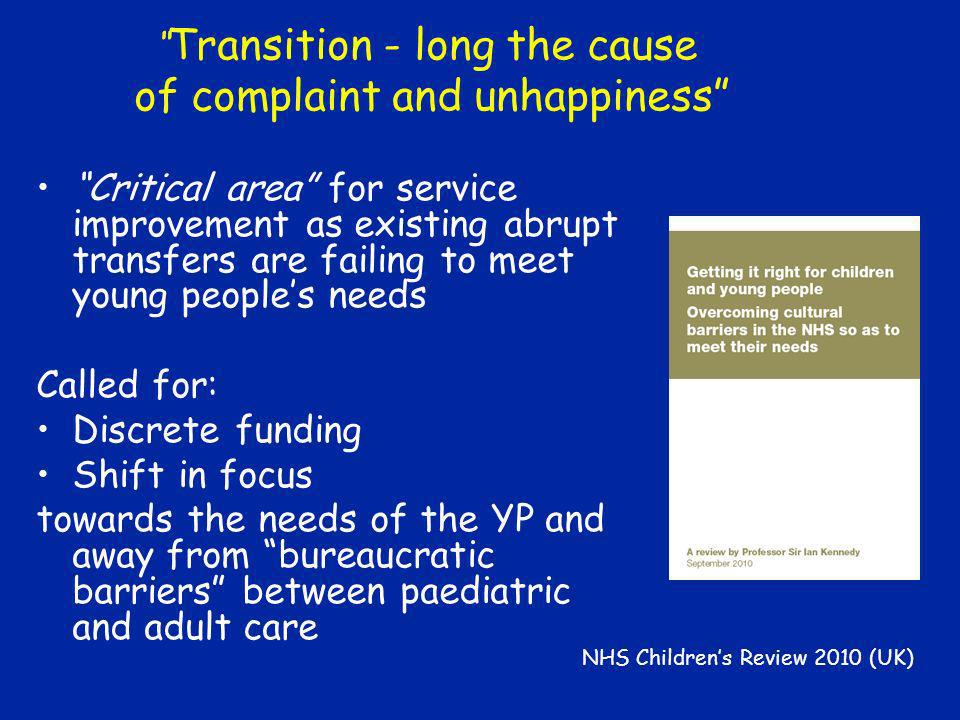 NHS Children's Review 2010 (UK)