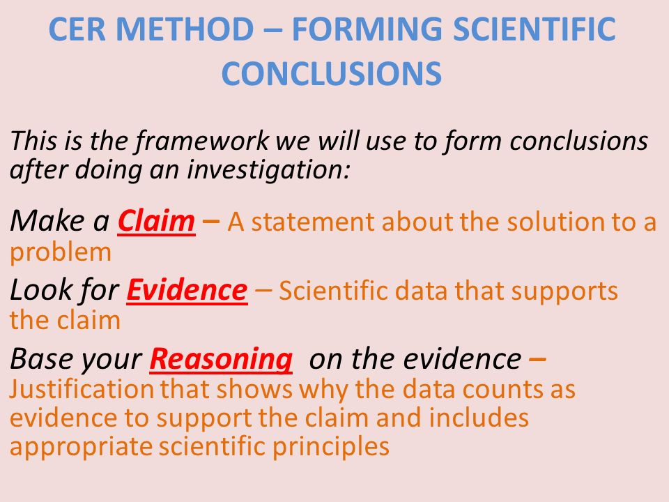 SCI 230 Week 1 Assignment - The Scientific Method