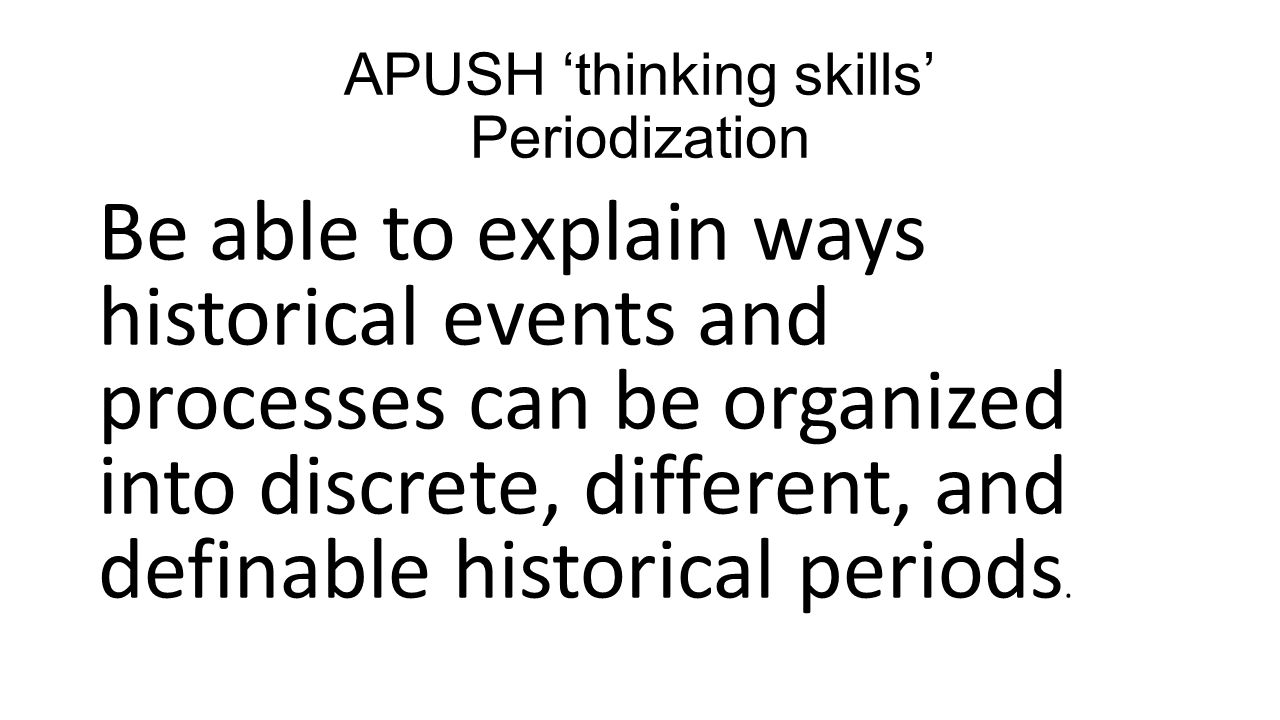 historical events apush notes Apush review sheet for ap us history review: packet, notes, and study guide  what were the major events of the war of 1812 the most important battle.