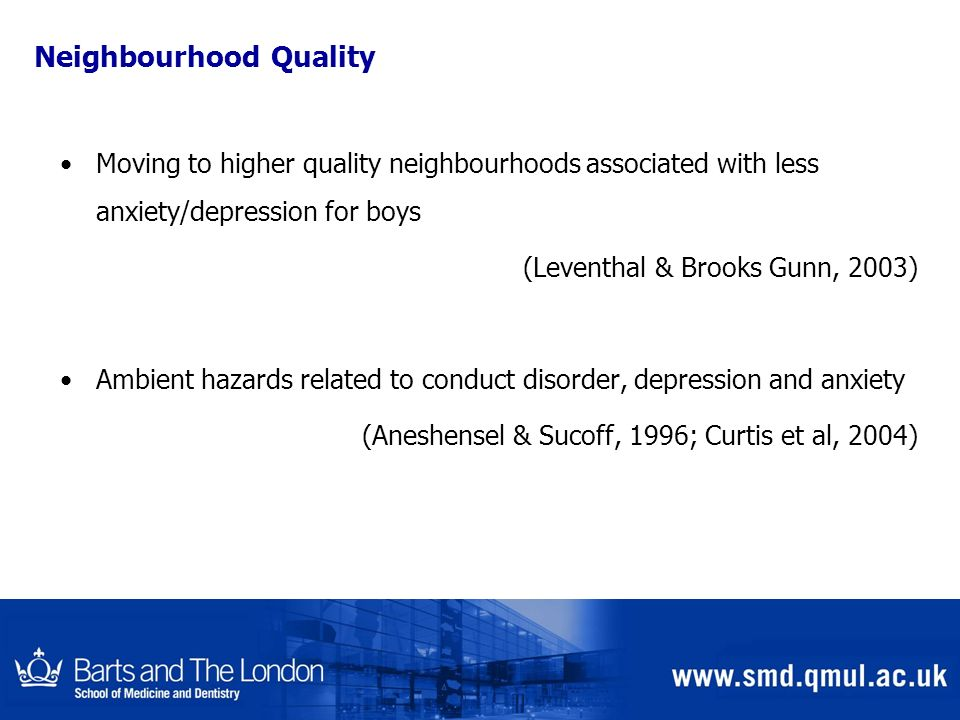 Neighbourhood Quality