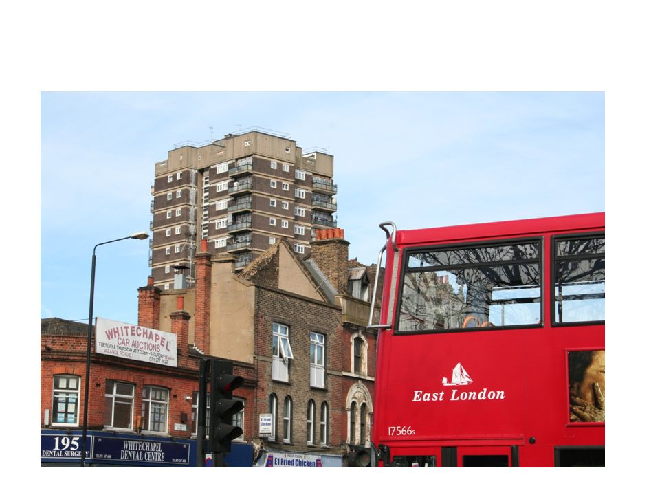 Just to get a bit of a feel for the area – here are some images of East London…