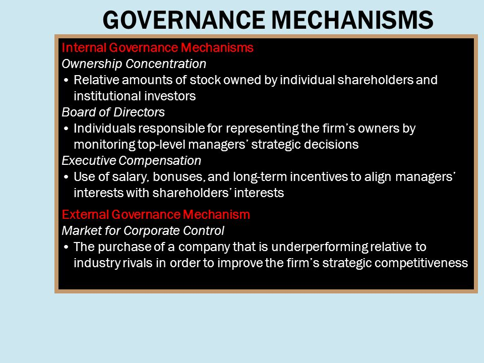 internal and external control corporate governance Internal control committee, alm committee,  external auditor  corporate  governance system that appropriately incorporates monitoring and supervision.