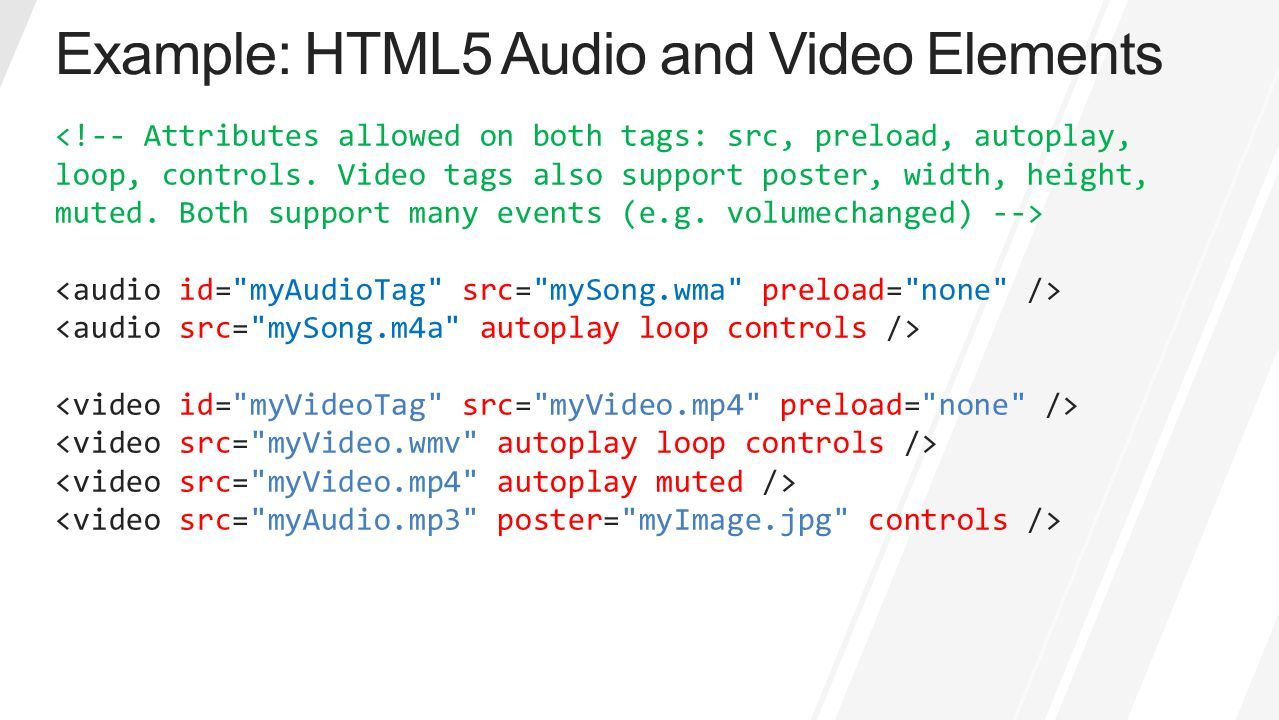how to download html5 audio