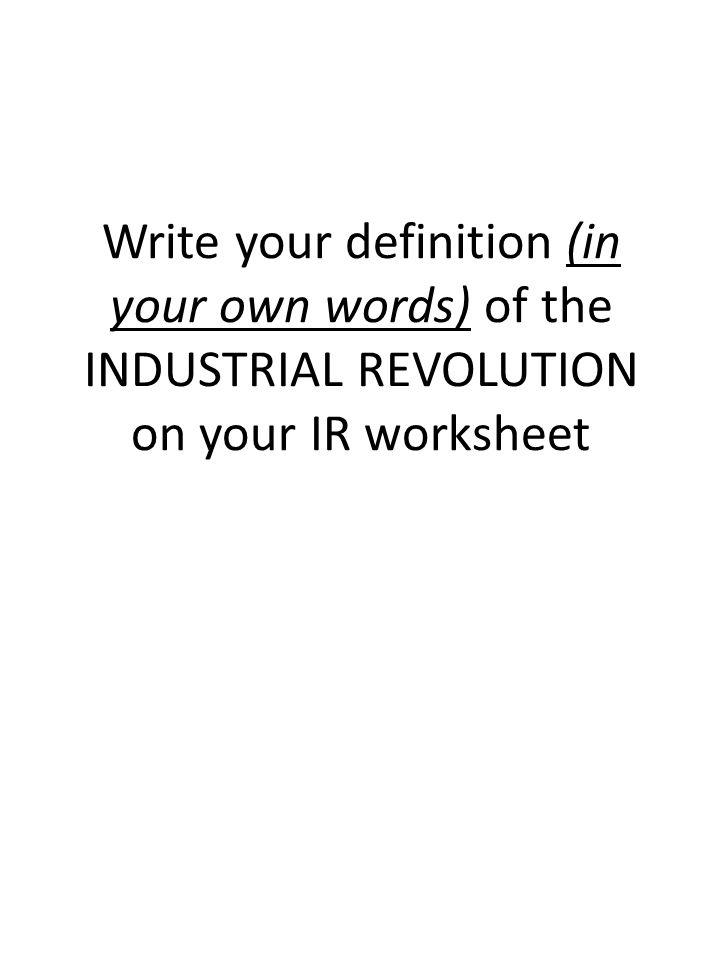 define the industrial revolution ppt video online download. Black Bedroom Furniture Sets. Home Design Ideas