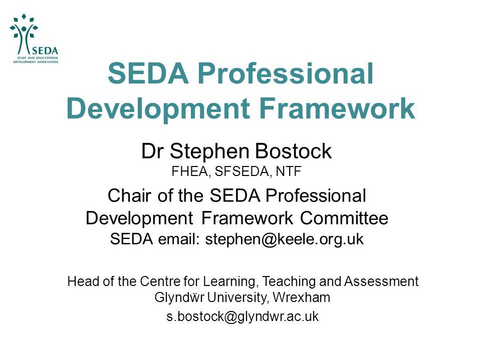 SEDA Professional Development Framework