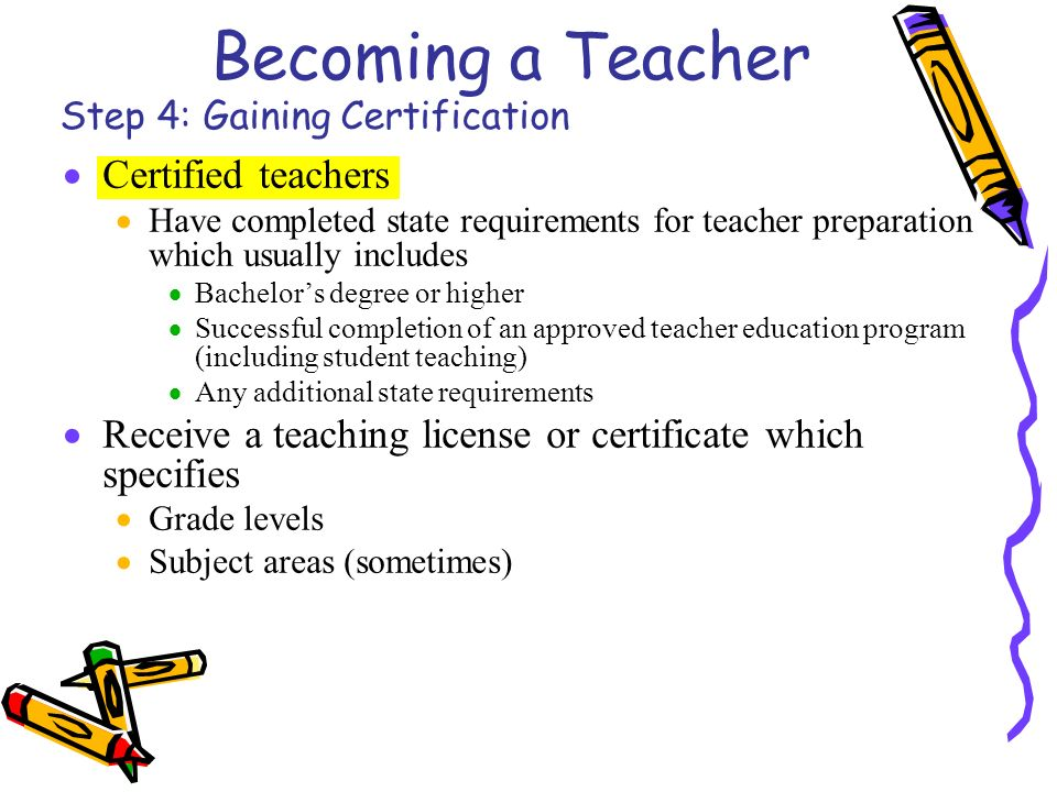 how to become a certified teacher online