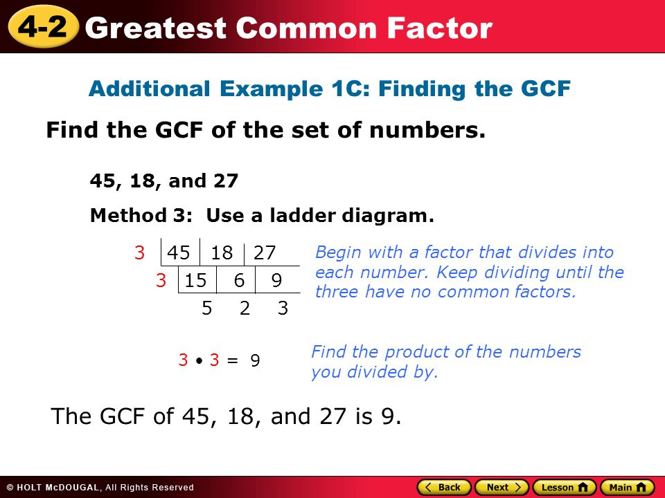 plc logic ladder diagram learn to find the greatest common factor (gcf) of a set of ... #1