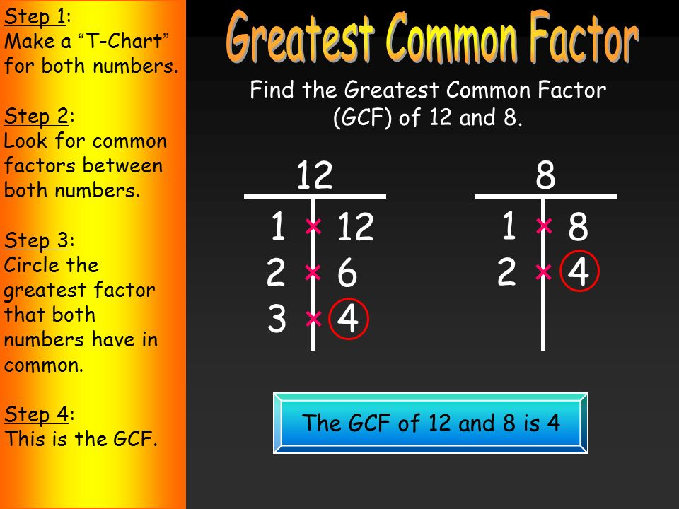 MATH Least/Lowest Common Multiple   4th grade Math   Pinterest ...