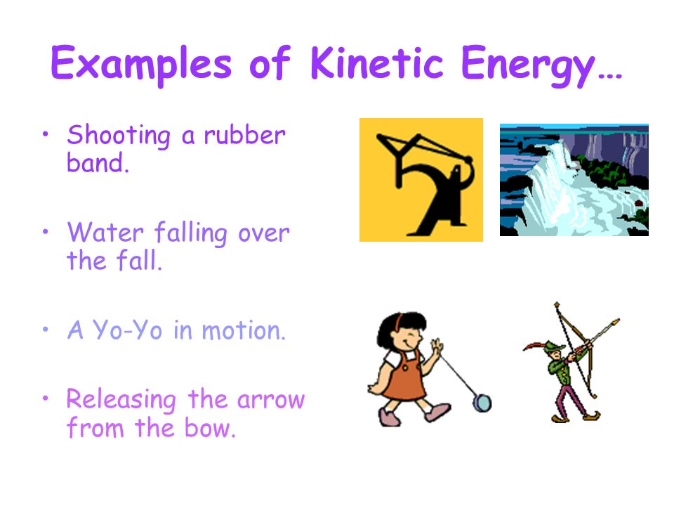 Which Of The Following Is An Example Of Kinetic Energy Ace Energy
