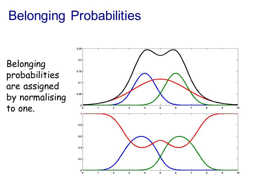 Belonging Probabilities