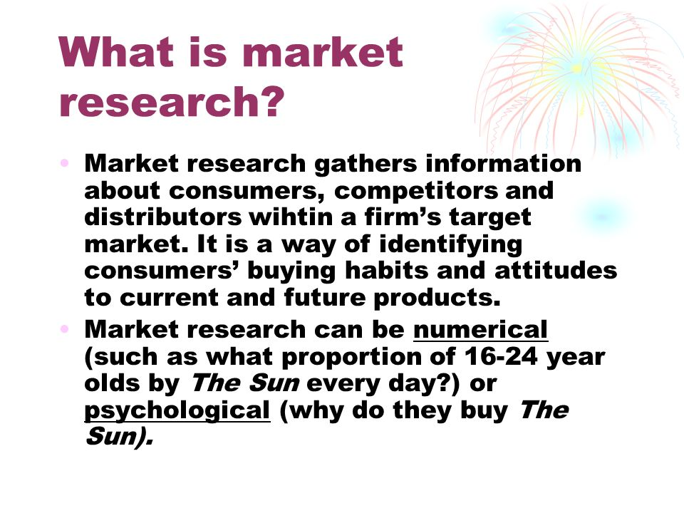 marketing research buy