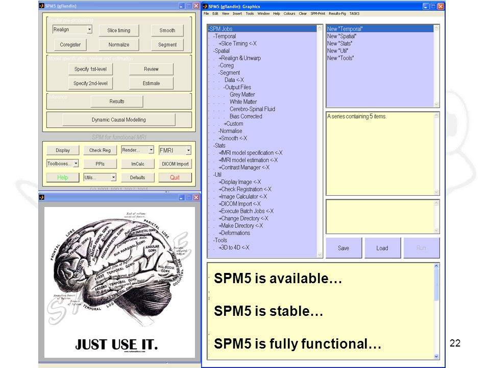 SPM5 ready to use SPM5 is available… SPM5 is stable…