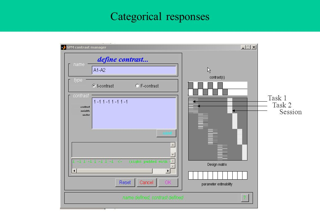 Categorical responses