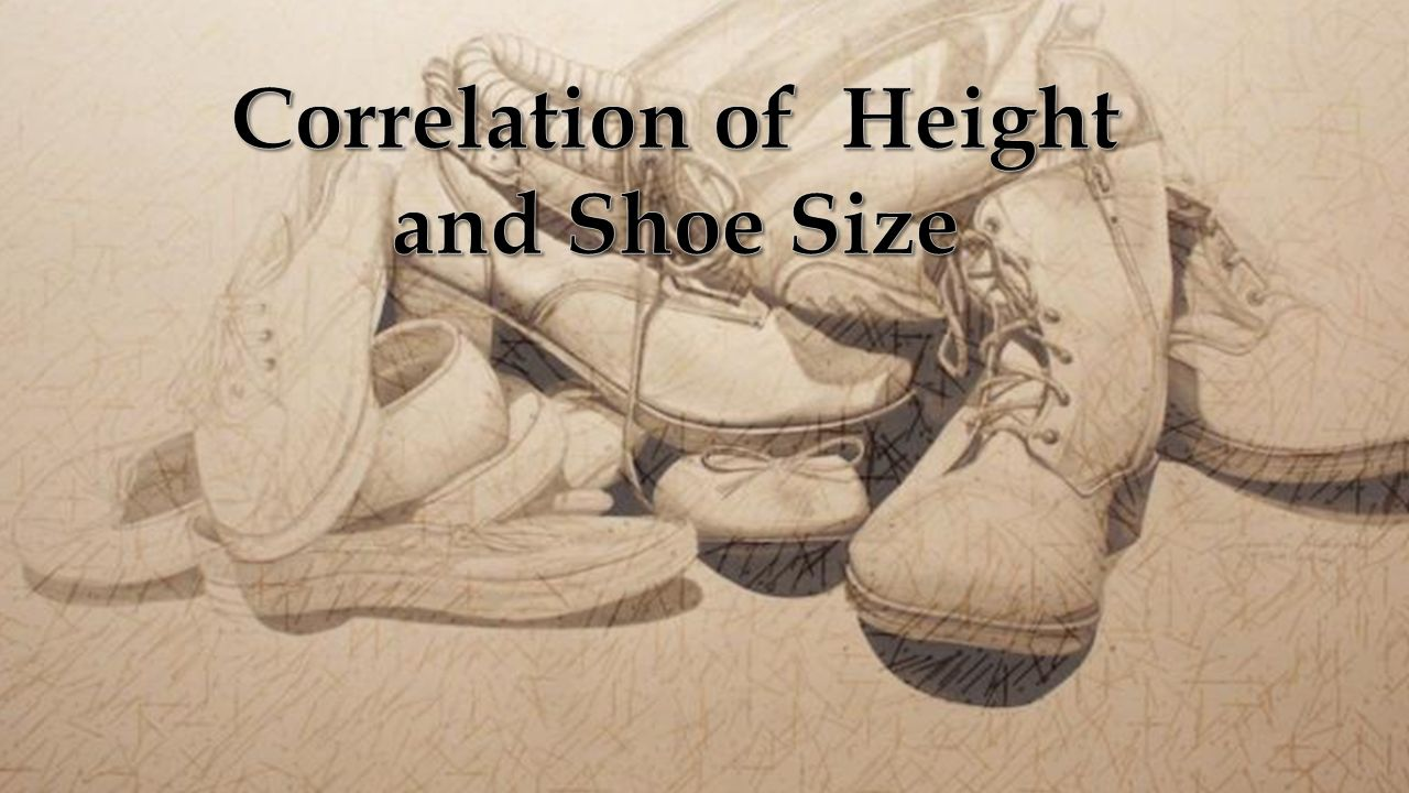 a correlation of height and A new study confirms there is a positive correlation between height and  education learn how a third, environmental, factor may be the key to.