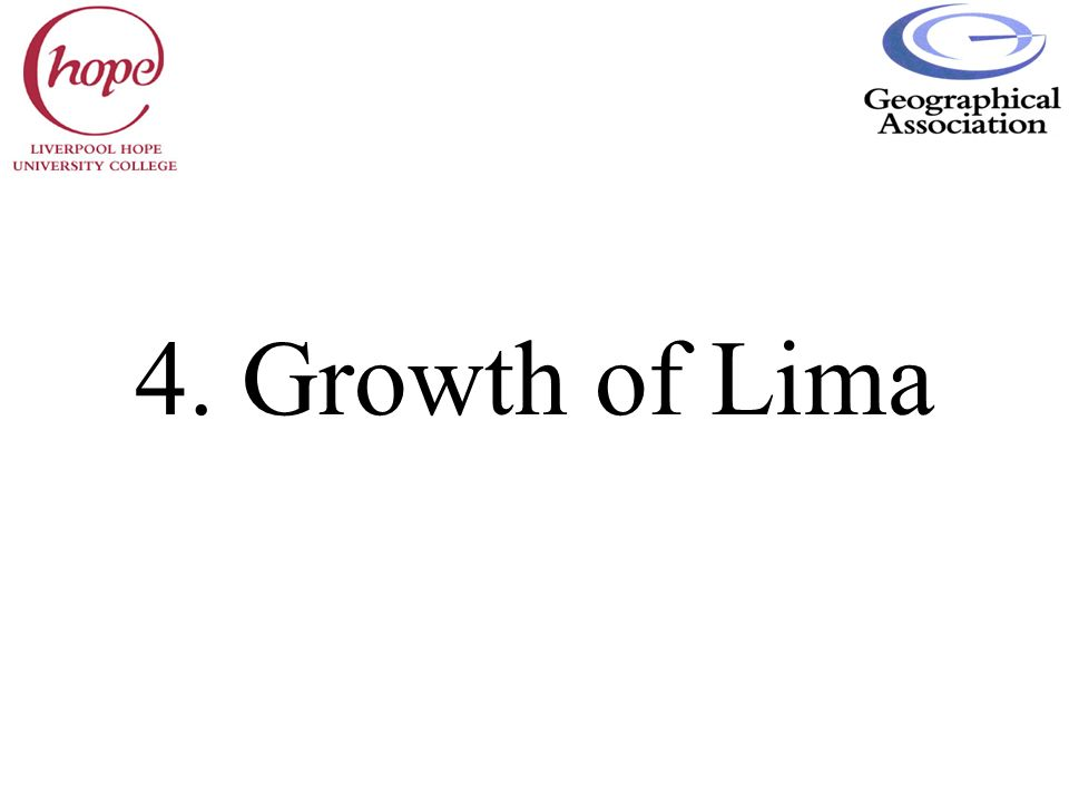 4. Growth of Lima