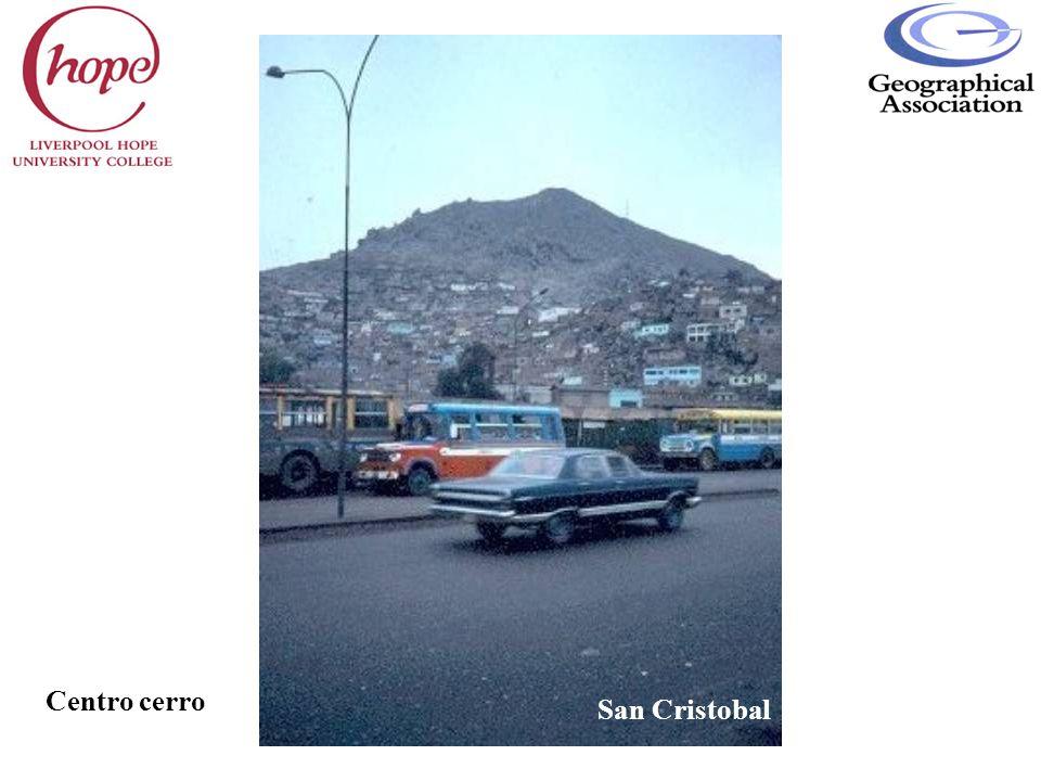 Centro cerro San Cristobal