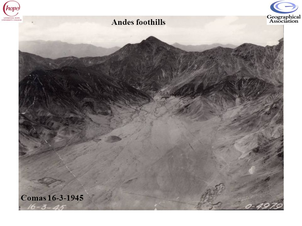 Andes foothills Comas 16-3-1945