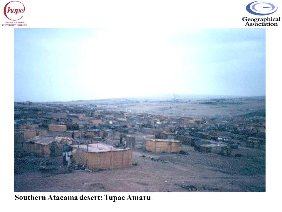 Southern Atacama desert: Tupac Amaru