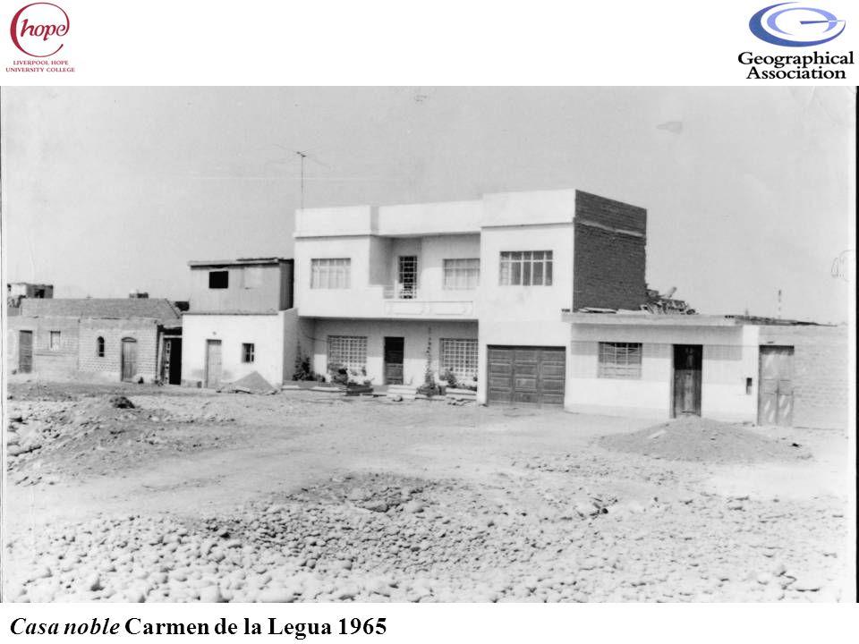 Casa noble Carmen de la Legua 1965