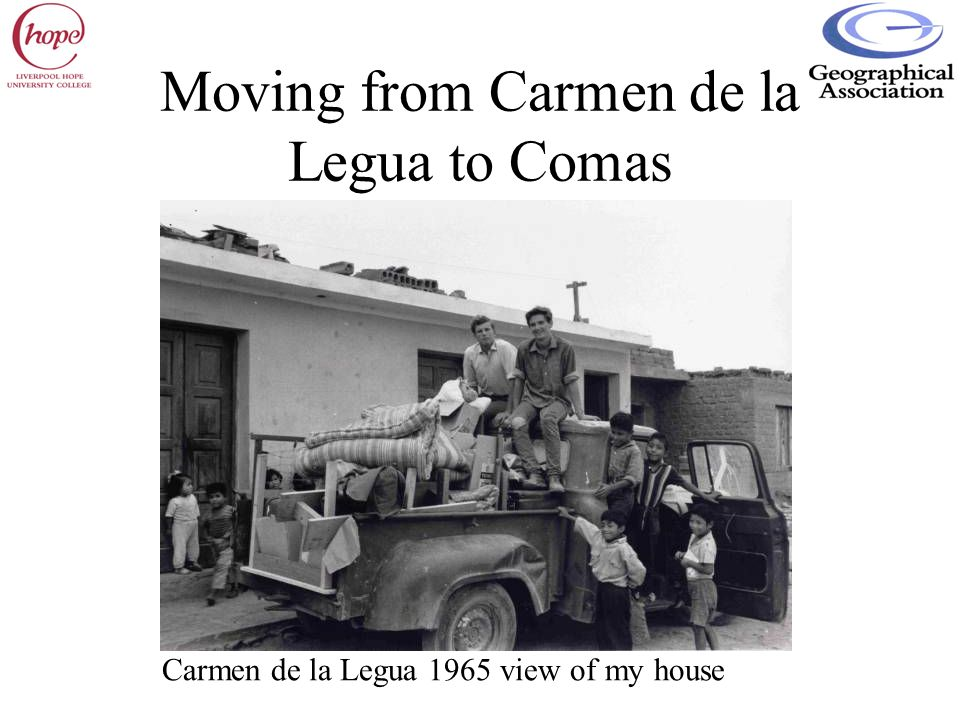 Moving from Carmen de la Legua to Comas