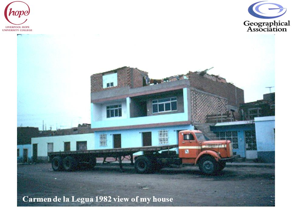 Carmen de la Legua 1982 view of my house