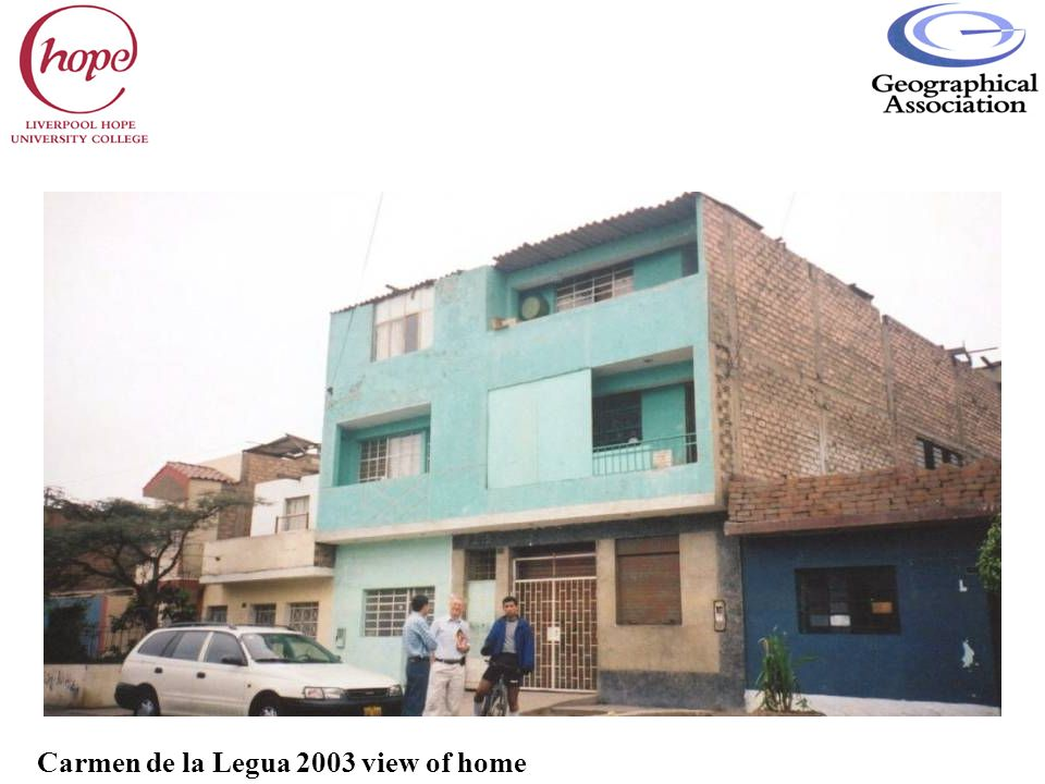 Carmen de la Legua 2003 view of home