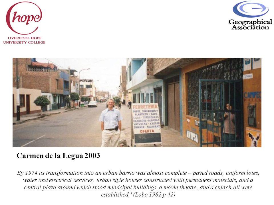 Carmen de la Legua 2003