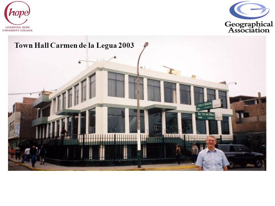 Town Hall Carmen de la Legua 2003