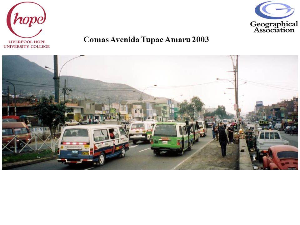 Comas Avenida Tupac Amaru 2003