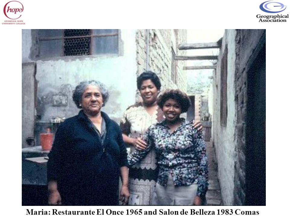 Maria: Restaurante El Once 1965 and Salon de Belleza 1983 Comas
