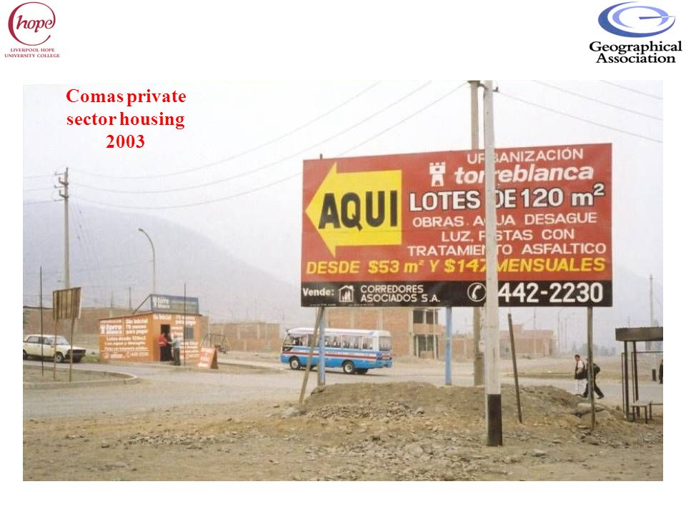Comas private sector housing 2003