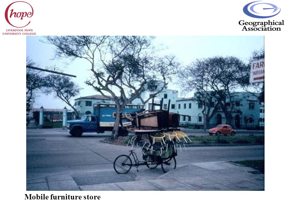 Mobile furniture store