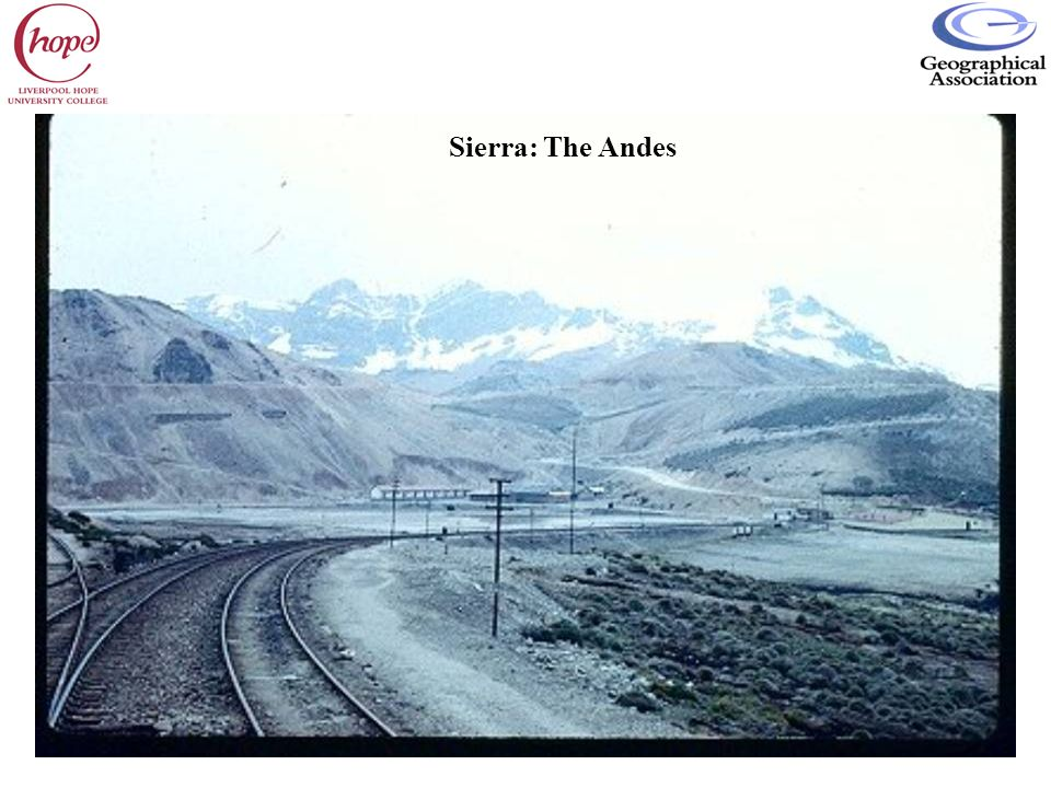 Sierra: The Andes