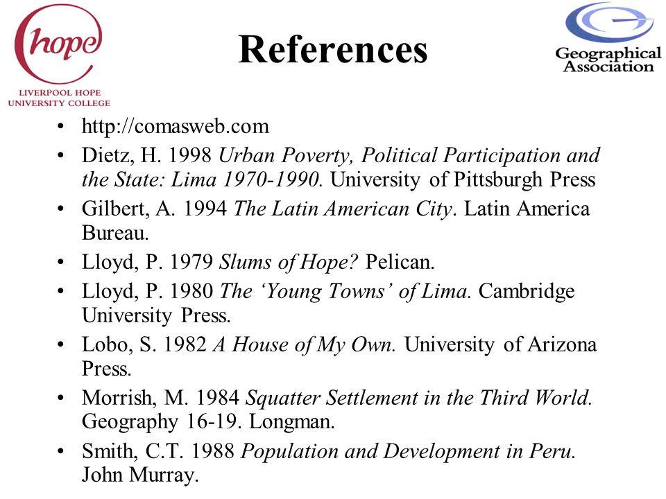 References http://comasweb.com