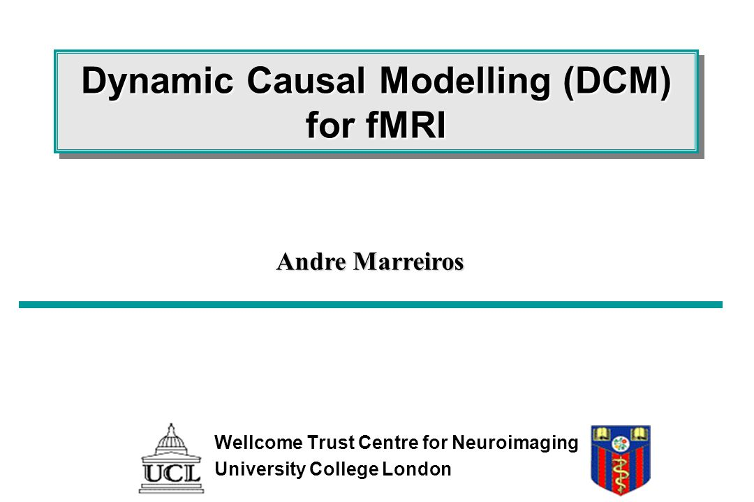 Dynamic Causal Modelling (DCM) for fMRI