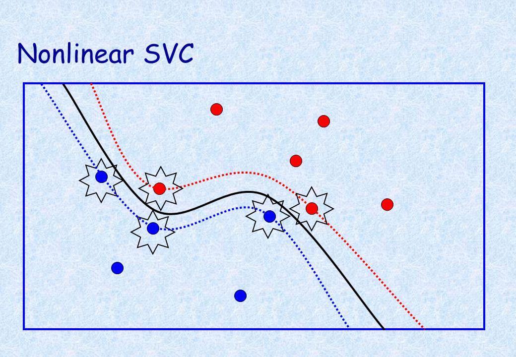 Nonlinear SVC