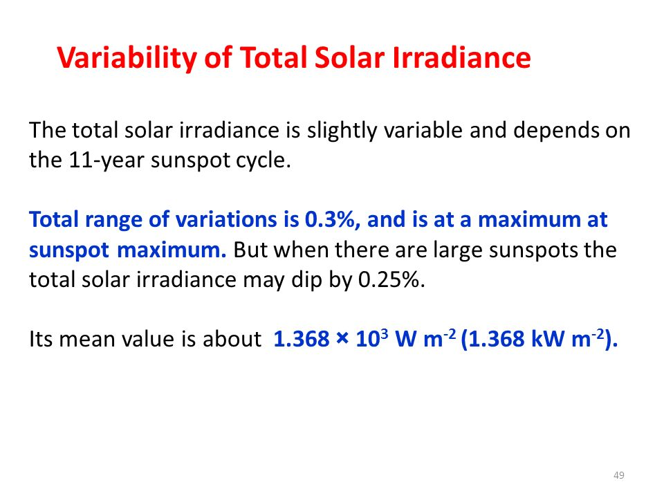 Variability of Total Solar Irradiance