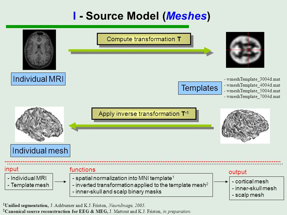 I - Source Model (Meshes)