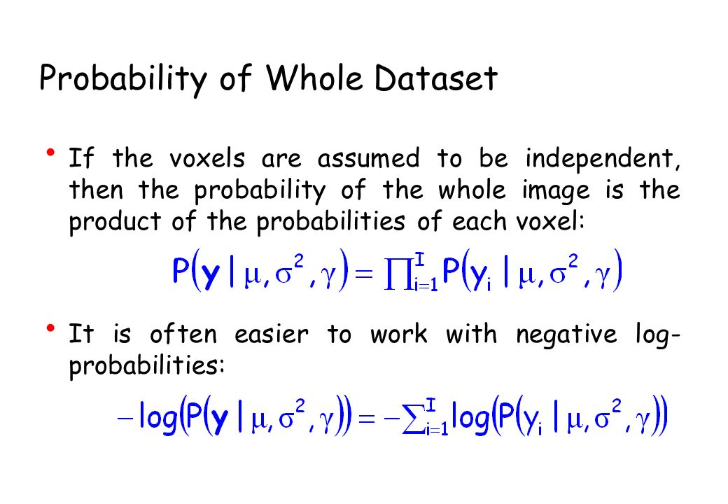 Probability of Whole Dataset