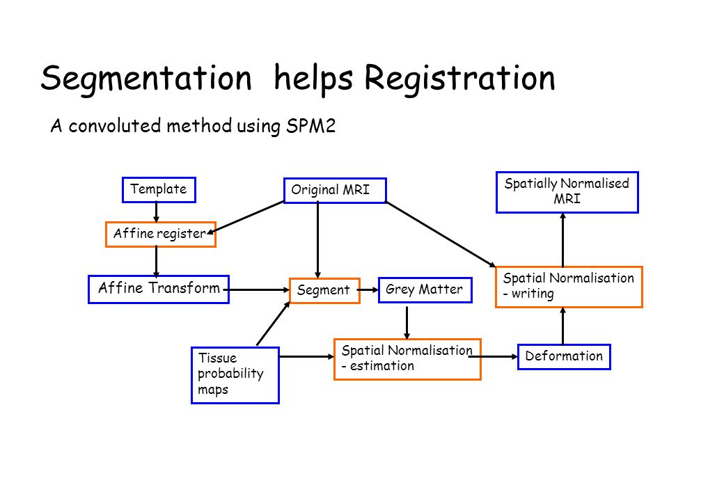 Segmentation helps Registration