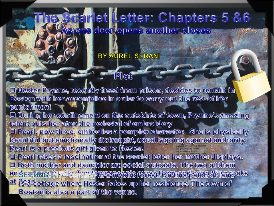 mystic sisterhood in the scarlet letter List of fiction works made into feature films (s–z) the scarlet letter (1850) the sisterhood of the traveling pants.