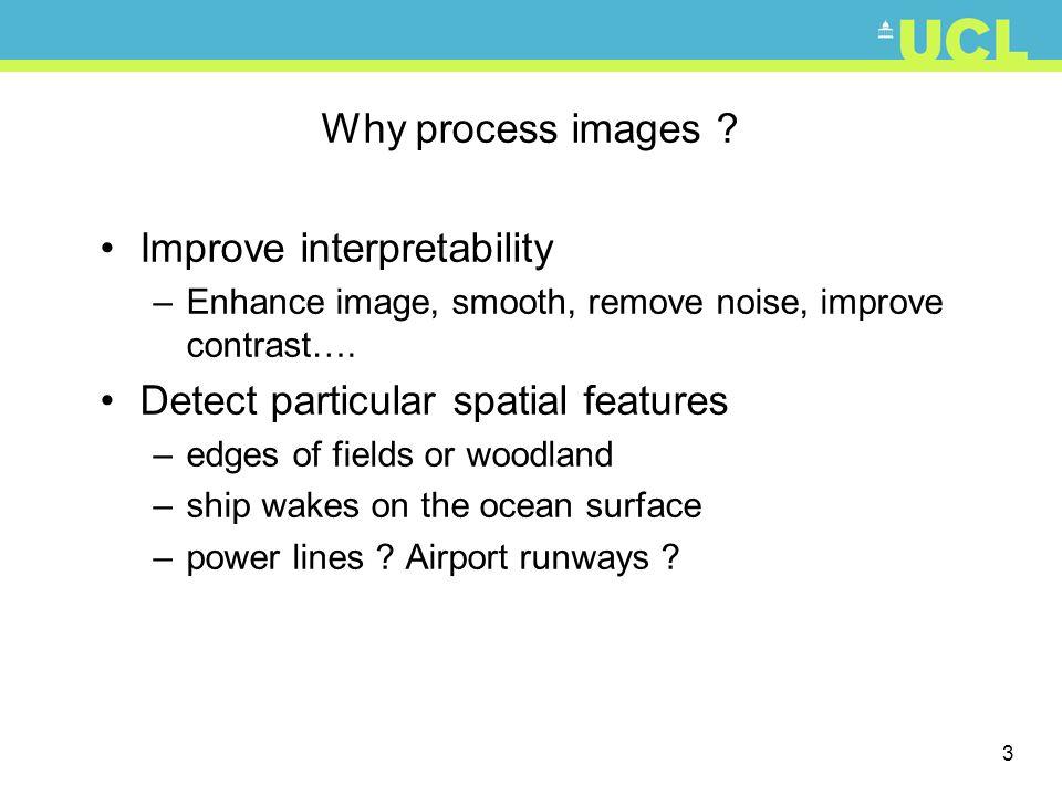 Improve interpretability